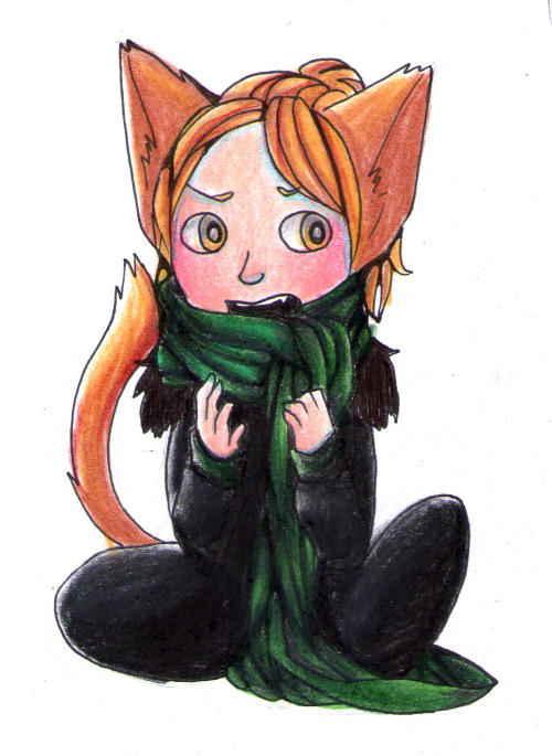 floofie:  i have another Anders to finish. This lil' one is a bookmark.