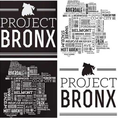 projectbronx:  Project Bronx Logos - designed by @theoodee (twitter)