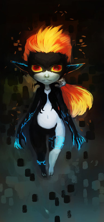 mudora77:  Midna. Without her headpiece.