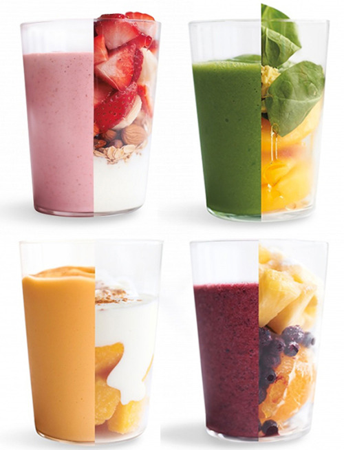 ocfitness:  dope  click through for Martha Stewart's slew of smoothie recipes.