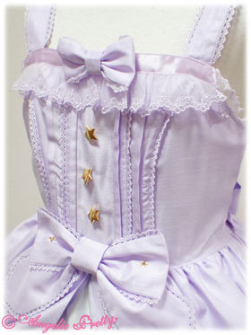 lolitahime:  Angelic Pretty's Moonlit Night Castle JSKAlso available in:PinkBlack
