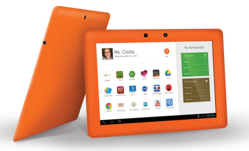 "News Corp Gets Into The Tablet Business With Amplify Joel Klein, head of News Corporation's new Amplify education brand, announced today at the South By Southwest Educationconference in Austin, Texas, that the company has designed its own branded Android tablet-sized computer. It comes bundled with software designed for teachers and students. The Amplify tablet comes preloaded with a whole mess of content—Google Apps for Education, Common Sense Media-rated audio, video, games, online textbooks, Merriam-Webster's Dictionary, and a graphing calculator. It has specialized search tools to find millions of hours worth of digital lessons and homework, all aligned to Common Core educational standards that are currently being adopted by most school systems.   You could probably take it along with your 5-year-old kid to a desert island and get her halfway to a college degree.  But that's not all. Amplify was built from News Corp's acquisition of Wireless Generation, a major vendor of software-based data systems and assessment tools to schools. So in addition to the content, the new tablets will have lesson-plan builders and dashboard-style tools for teachers, principals, and parents to track and monitor students' performance. The 10-inch tablet will be marketed to states, districts, and individual schools for use this coming school year. The cost is $299 a pop for a Wi-Fi-enabled tablet when you buy a two-year subscription to Amplify-branded content, which costs $99 a year. Or you can get one with a 4G data plan for $349 per device and a $179 a year contract. This compares to $399a pop for a non-4G iPad, the most popular tablet in U.S. classrooms. The subscription fees include live chat, phone, and email support and professional development for teachers. The enthusiasm for touchscreen tablets and phablets in education is surprising even the most ardent technology fans. Apple CEO Tim Cook has said ""the adoption of the iPad in education is something I've never seen in any technology."" Education spending on IT is estimated to be at least $20 billion annually, of which a little more than half is currently going to hardware. The Samsung Galaxy, Google Nexus, Kindle, Microsoft Surface, and even the Nook are allvying for market share. Asked by Fast Company why Amplify wanted to enter this crowded field on the hardware side, Klein cited the power of an integrated hardware and software platform. ""My view has been that if we don't design a product that really facilitates and changes teaching and learning, and all the supports that go together to make this a robust package, then we'll be where we've been [in the past]."" Read the full article here.  As exciting as this is, one must wonder what happens to the students in schools that can't afford these tools?"