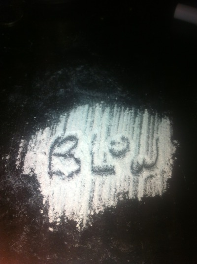 Good call cocaine, maybe I will do that to you