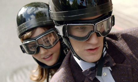 guardian:  Matt Smith and Jenna-Louise Coleman in Doctor Who. The new season of the BBC's Doctor Who, starting Saturday, doesn't use a single female writer. The count is similarly poor for other British science-fiction and fantasy shows – so what's the problem? Thanks to notabuddhist for the image suggestion Photograph: BBC/Adrian Rogers