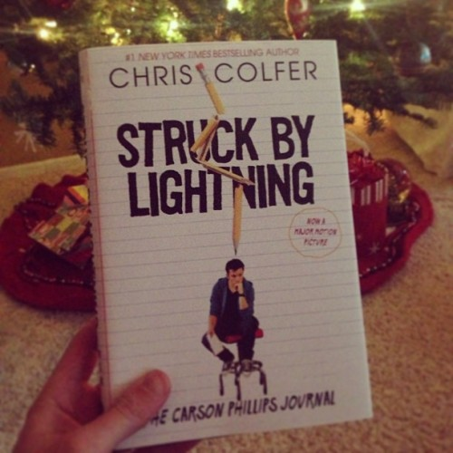 sickofmyownvoice:   Early Christmas present to myself :) @chriscolfer #StruckByLightening