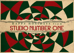 Happy Holidays from Studio Number One!