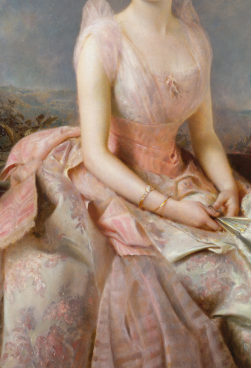 Edward Hughes - Juliette Gordon Low (1887) - Detail