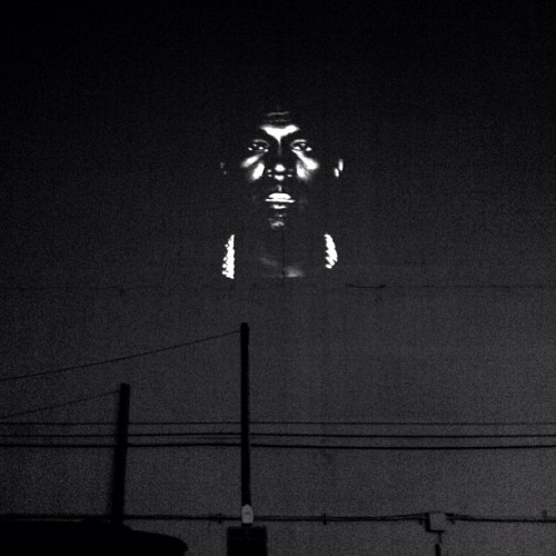 kasinken:  illroots:  DTLA.  only kanye can do some cool shit like this