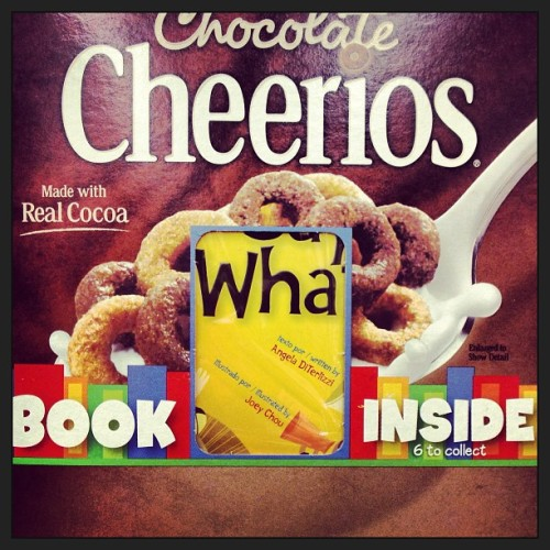 Books! Inside cereal! Today, kids' stories; tomorrow, erotica!! ;) #books #eroticainabox