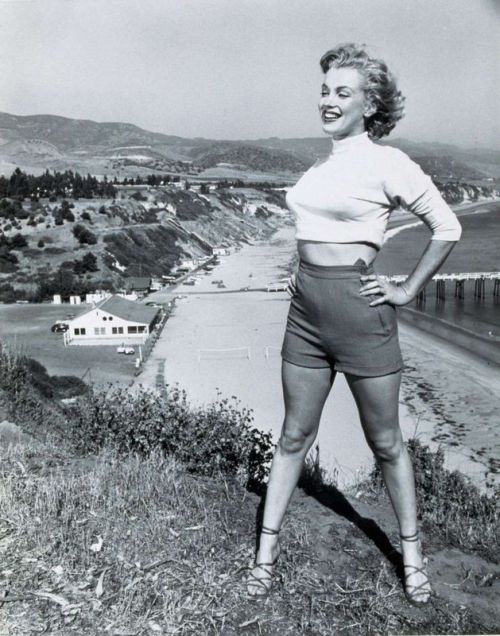 1951: Marilyn by J.R Eyerman.