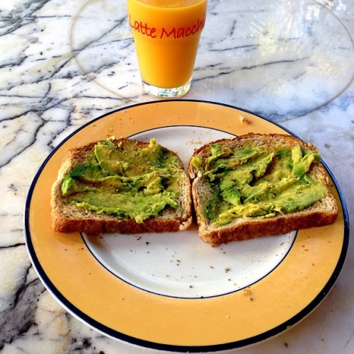 Putting premium in the tank #avocadoontoast #eat #clean #breakfast