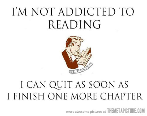 ilovereadingandwriting:  (via I'm not an addict… - The Meta Picture)