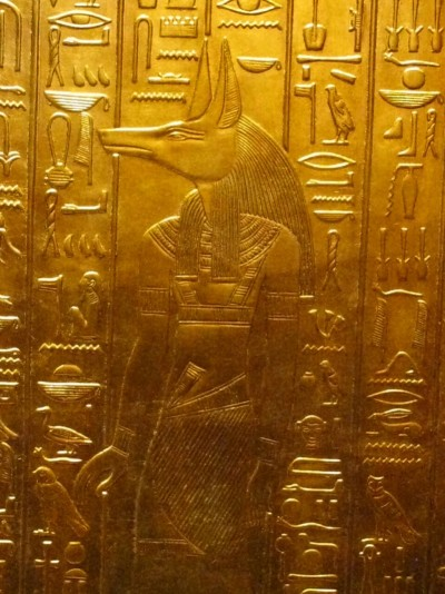 ancientcivilizations:  Anubis, god of the dead. His role is to bring and prepare the dead for the a great journey in the kingdom of the dead.