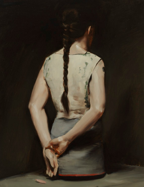 pikeys:  Automatic, 2008 by Michael Borremans
