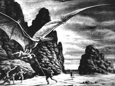 pulpflesh:  The Art of  Ray Harryhausen ~ R.I.P.(June 29, 1920 - May 7, 2013)