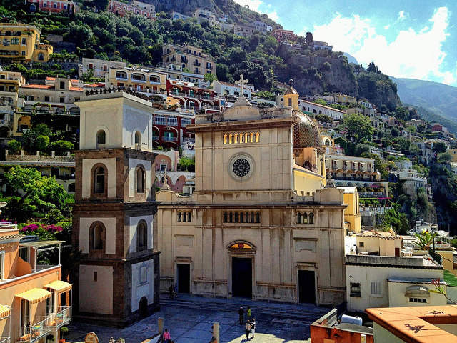 | ♕|  Duomo di Positano  | by © Ron Gunzburger | via ysvoice