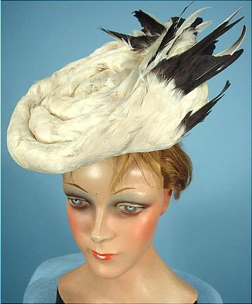 Hat 1905 Antique Dress