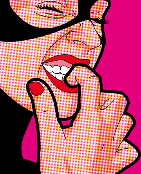 The secret Life of Heroes Pop Art by http://www.greg-guillemin.com/