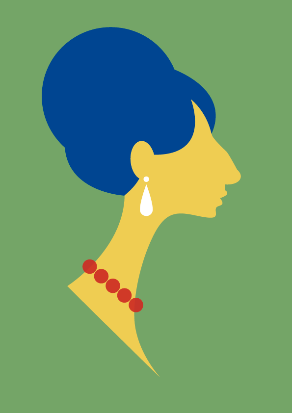 stanleychowillustration:  Marge Simpson Barbra Streisand Mash-up