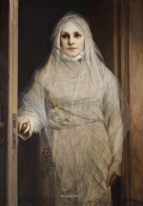 Gabriel von Max, The White Woman