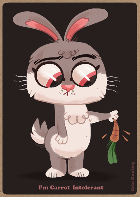 Carrot Intolerant by Erin Hunting