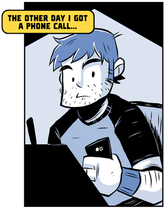 NEW GHOSTBUCKET! It's about phone calls.