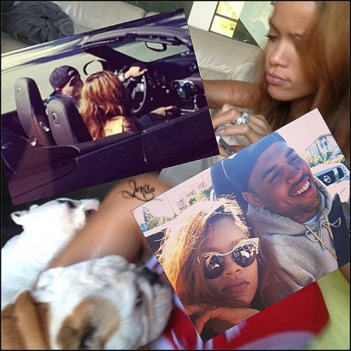 rihstopher:  #myfuckingfaves proud mommy & Daddy🐶🐶😍😍😍#jenisaedit