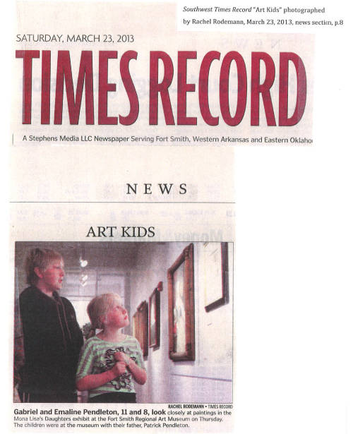 Art Kids -Southwest Times Record