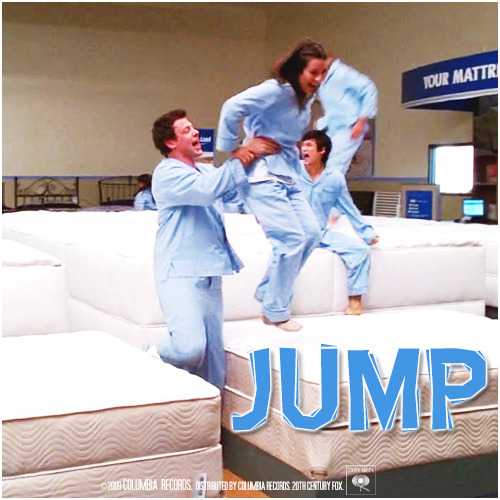 1x12 Mattress | Jump Alternative Cover 'The Faithfully Finchel Collection'