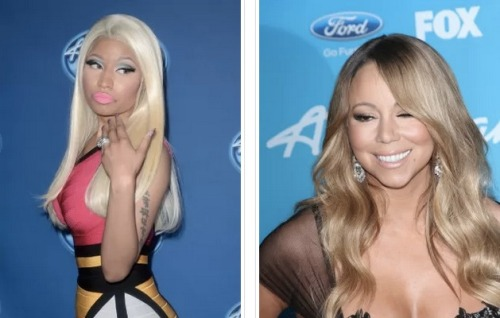 Nicki Minaj and Mariah Carey are still going at it. After Mariah made fun of Nicki about not having as many accolades, Nicki responded by calling Mariah old, insecure, and bitter! Click the pic for the story.
