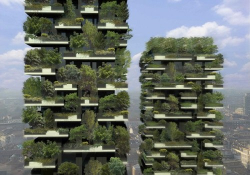 A 27-Story Vertical Forest Grows in Milan via: http://blogs.artinfo.com/objectlessons/2013/01/11/a-27-story-vertical-forest-grows-in-milan/