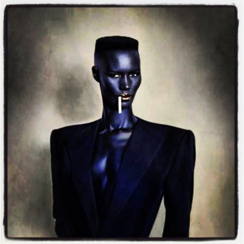 bretteclecticis:  Respect 2 Grace Jones #gracejones #bday #innovator #maverick #icon #artist #actress #og #funk #reggae #dance #experimental