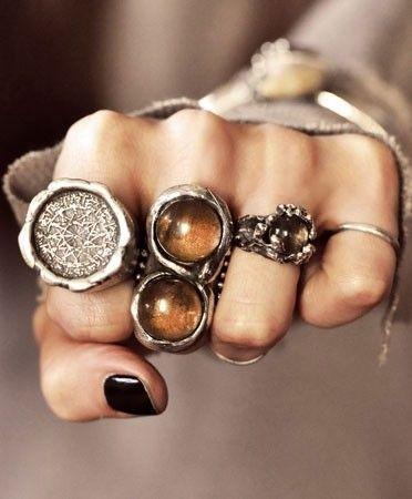 boho bohemian accessories bohemian rings fist hand fierce silver silver rings silver jewelry boho accessories black nails