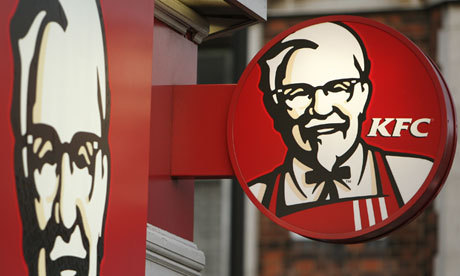 Wonderful.  KFC is expanding their shit food throughout the UK.  Expanding waistlines and NHS costs in the process. Hurrah!