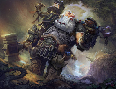 "art-of-the-dwarves:  ""Dwarf"" by Armandeo64."