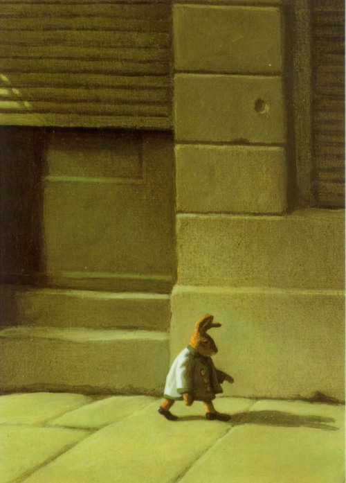 "kompajunior:  Michael Sowa ""Rabbit from Rie"""