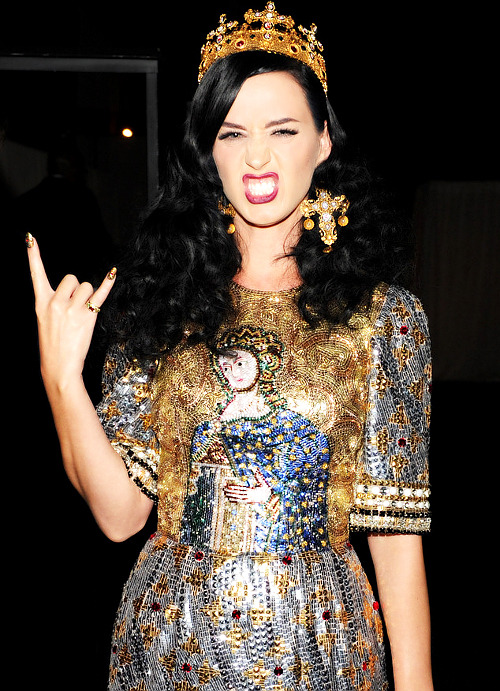 Katy at the 2013 MET Gala - May 6th, 2013