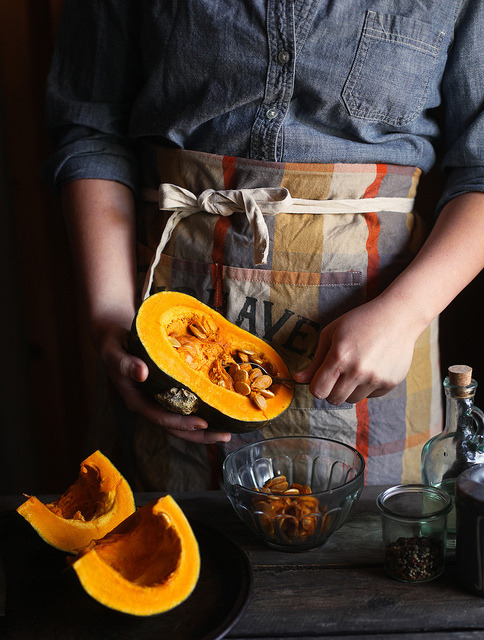 kabocha squash by hannah * honey & jam on Flickr.