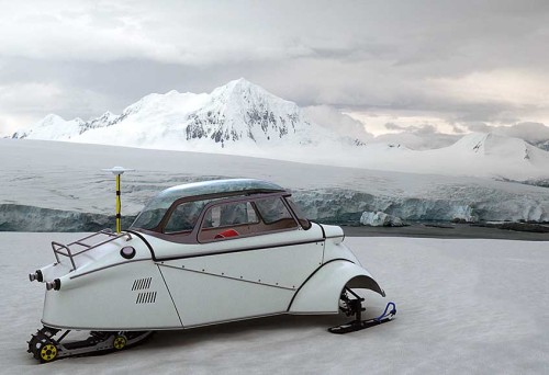 roguetelemetry:  Messerschmitt KR200 snowmobile