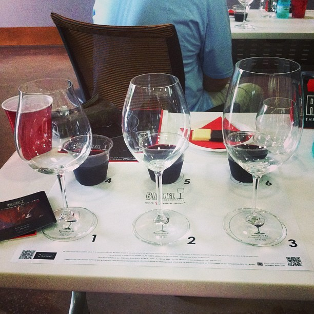 @RiedelUSA Red Wine Sommelier Series tasting led by Georg Riedel #riedel #stemware #glassware #wine #flyshit