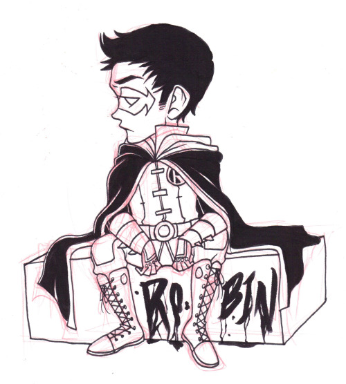 I drew Damian after I finished my animation ;u;