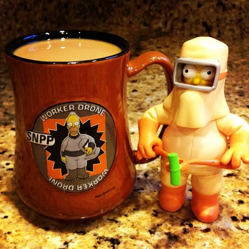 1st Cup of Joe!     #NuclearPowerPlant #TheSimpsons #Homer  #Coffee #Mug #Simpsons #TappedOut #ToughBrewCrew #GoodMorning #PMA