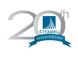 20th Anniversary Logo for Citadel Environmental Services {Client Project}