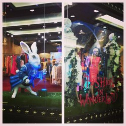 Alice in Fashion Land - best store ever @jabberwowie @alysemalm #dubai #shopping #fashion #style #rabbit #alice #luxury #star  (at Mall Of Emartes)