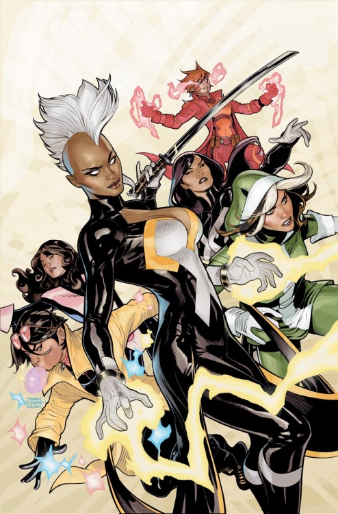 atomictofu:  Terry Dodson variant for X-Men by Wood/Coipel.
