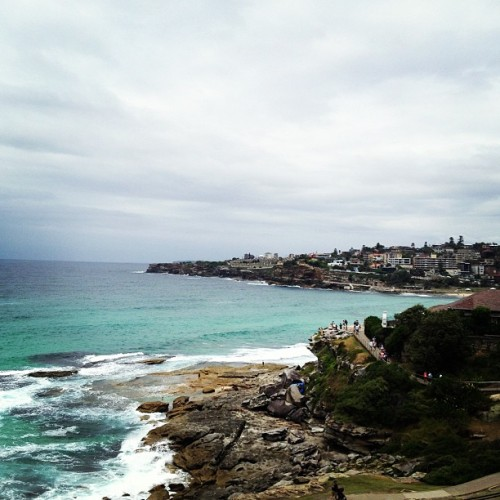 View from the balcony. #sydney #tamarama #heaven