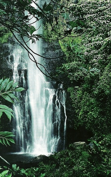 euphoricspirit:  Wailua Falls, Hawaii National Geographic | September 1995