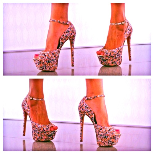 Floral Printed, Fabulous Pumps … from Betsey Johnson