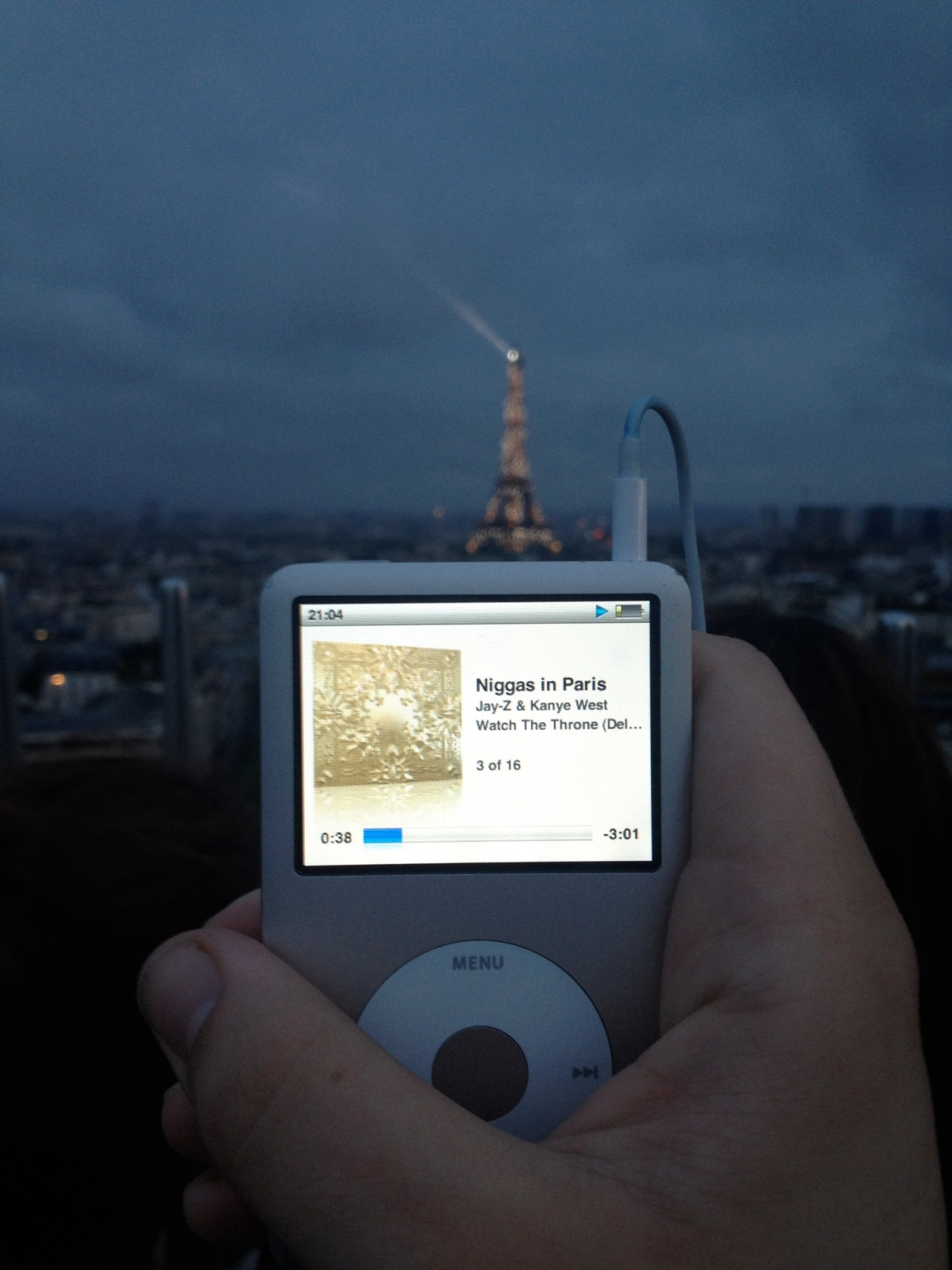 Taken by my buddy Zack when he was in Paris. Too cool.&nbs