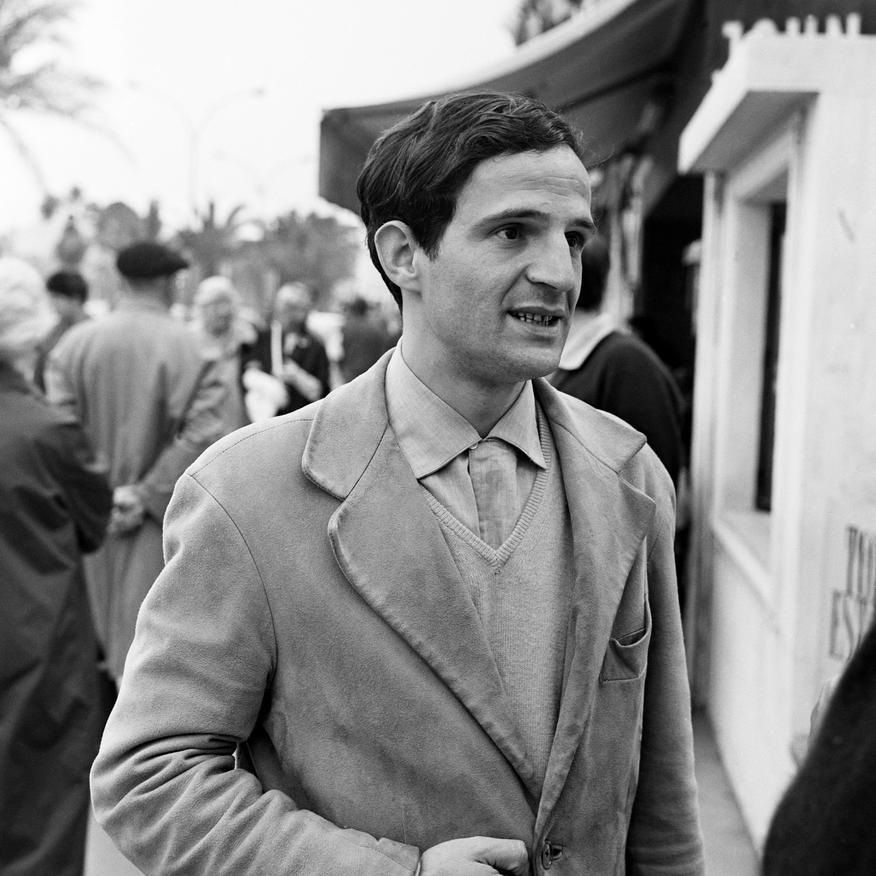 François Truffaut at Cannes  (via)